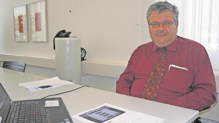 Lukas Walter, wissenschaftlicher Mitarbeiter im Bundesamt für Wohnungswesen, koordiniert die Wohntage.