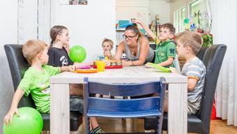 LIZ-Sommerserie «So wohnt das Limmattal» 2017: Zu Besuch bei Ramona Allaz (32), einer Tagesmutter aus Urdorf.