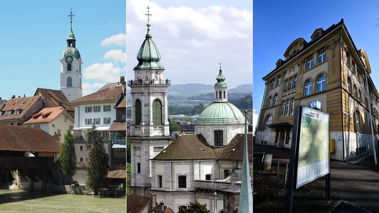 Olten, Solothurn und Grenchen sind sich nicht einig, wenn es um die Steuervorlage 17 geht.