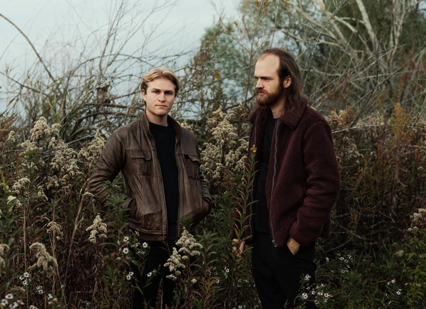 Die St.Galler Band «Catalyst»: Dominic Curseri (links) und Ramon Wehrle.