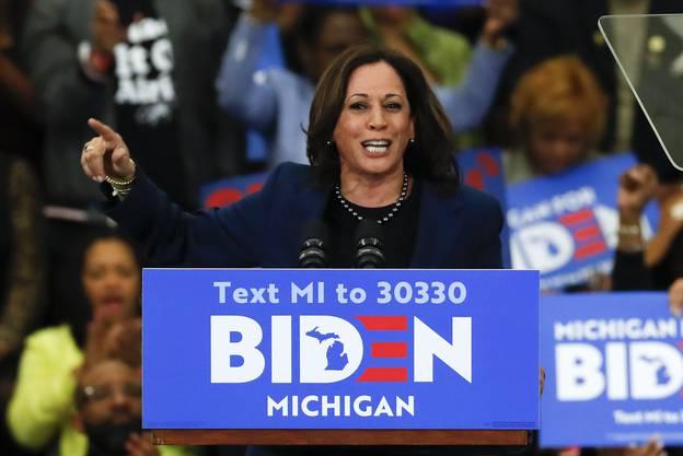 Beyer glaubt nicht, dass die Bidens Wahl seiner möglichen Vizepräsidentin, Kamala Harris, eine allzu grosse Rolle spielen wird.