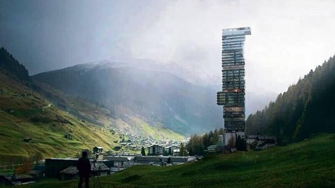Spektakuläres Hotelprojekt im Bündner Bergdorf: Vals soll einen Luxussuiten-Turm erhalten.