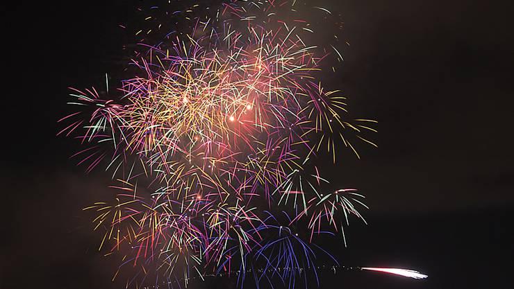 Das Silvesterfeuerwerk zum Jahreswechsel 2020 in Rheinfelden – dieses Jahr findet der Event, wie so viele, nicht statt.