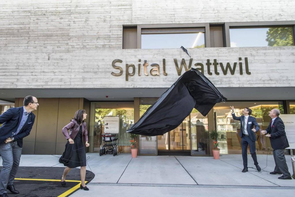 Die Einweihung der neuen Bettenstation im Spital Wattwil im Frühjahr 2018. (© Tagblatt)