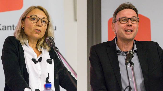 Yvonne Feri tritt nicht mehr an, Dieter Egli hat seinen Entscheid noch nicht kommuniziert.