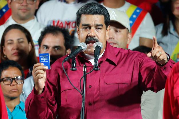 Nicolás Maduro, Präsident Venezuelas.