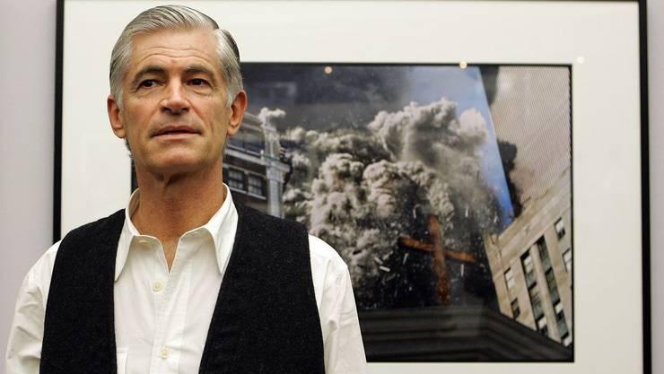 Der US-amerikanische Kriegsfotograf James Nachtwey.