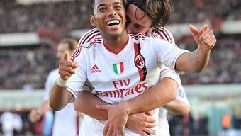 Robinho traf zum 1:0 gegen Catania.