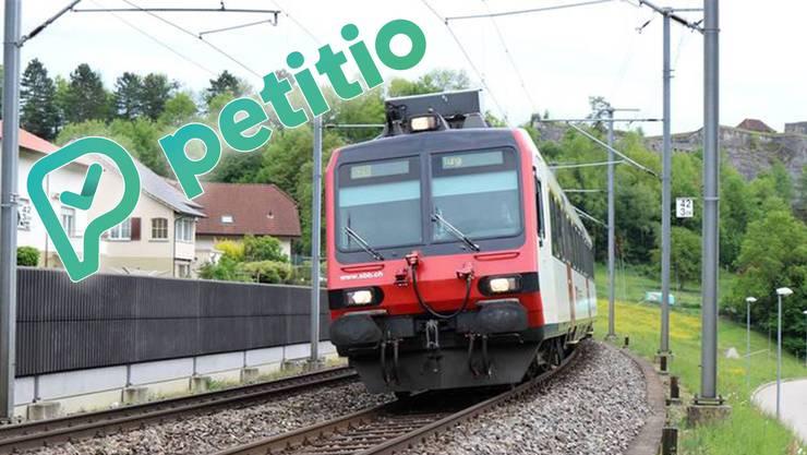 Unterschriftensammlung läuft: Ziel ist es, dass die direkte S-Bahn-Verbindung von Murgenthal, Rothrist und Aarburg-Oftringen Richtung Aarau bestehen bleibt.