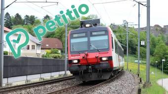 Durch den neuen Fahrplan der SBB verlängert sich die Reisezeit von Murgenthal nach Aarau.