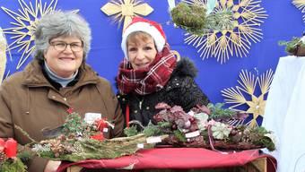 Vom Freitagabend bis Sonntagnachmittag fand in Möhlin der Adventsmarkt statt.