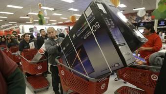 Umsatz beim Thanksgiving-Shopping erstmals seit Jahren wieder geschrumpft