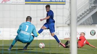 Arben Alimusaj erzielte innert kürzester Zeit drei Treffer. (Archiv)