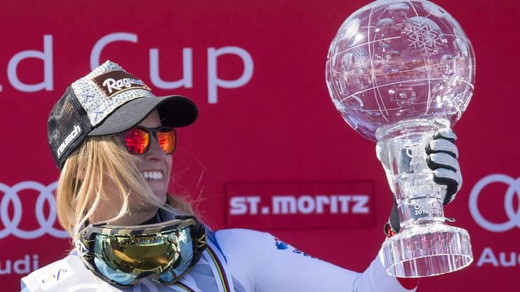 Ski-Gesamtweltcupsiegerin Lara Gut.