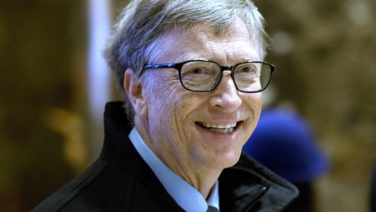 Platz 1: Microsoft-Gründer Bill Gates (Vermögen: 75 Milliarden Dollar)