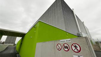 Das Datacenter Zürich-West von green.ch in Lupfig: Es wurde im März 2011 eingeweiht.