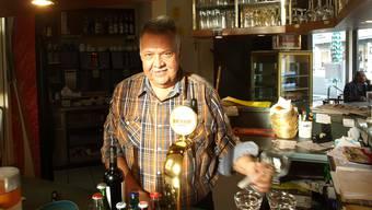 Markus Jans verlässt nach 19 Jahren das Café Grogg am Oberen Graben; zu Spitzenzeiten reichte der Mann täglich mehr als 100 Menus über den Tresen.