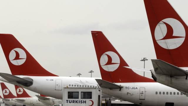 Die entführten Piloten fliegen für Turkish Airlines (Archiv)