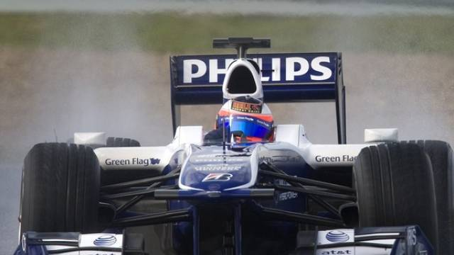 Rubens Barrichello kommt im Williams immer besser auf Touren