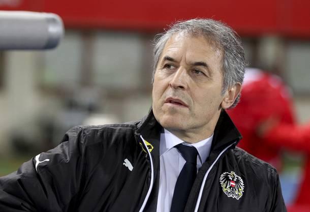 ... sechs Jahre lang Trainer der österreichischen Nationalmannschaft.