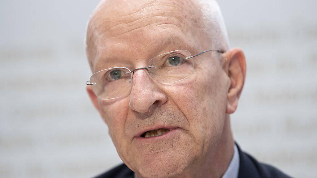 Der ehemalige Astronaut und Militärpilot Claude Nicollier hat im Auftrag von Verteidigungsministerin Viola Amherd die Grundlagen für den Kampfjet-Kauf analysiert.