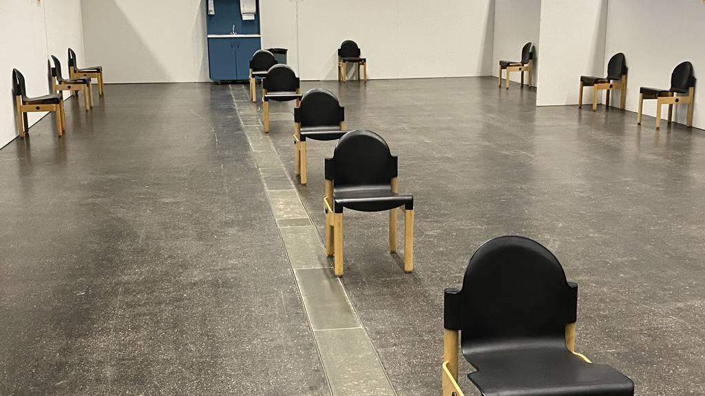 Innert weniger Tagen ist ein Covid-19-Beratungszentrum aufgebaut
