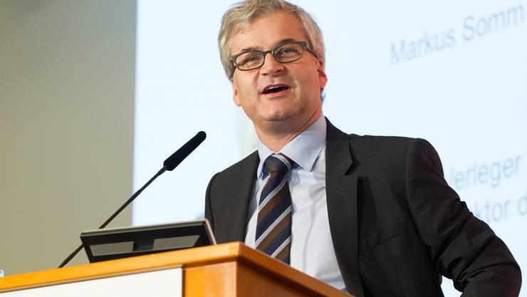 BaZ-Chefredaktor Markus Somm.