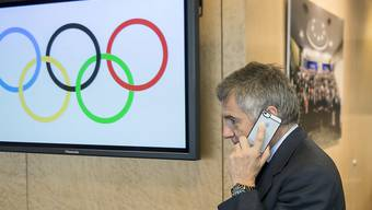 Juan Antonio Samaranch junior vermeldet seine Wahl via Telefon