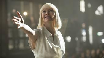 Extravagante Oscar-Gewinnerin: Tilda Swinton spielt die Hauptrolle in «Okja», einer von zwei Netflix-Produktionen, die im Wettbewerb von Cannes laufen. Netflix