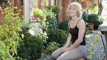 Susanne Hochuli zu Hause in Reitnau