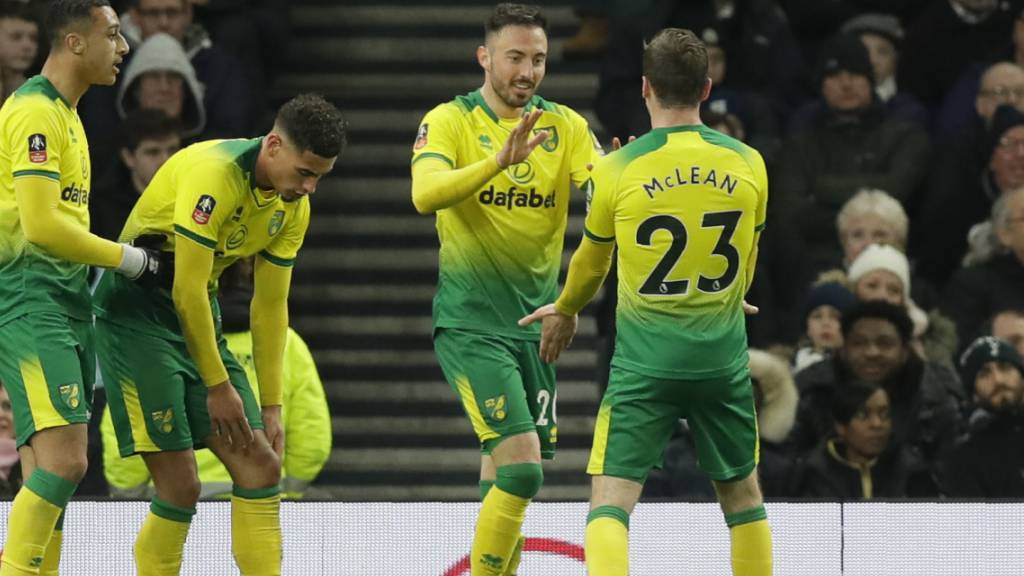 Dank Drmic steht Norwich im Cup-Viertelfinal