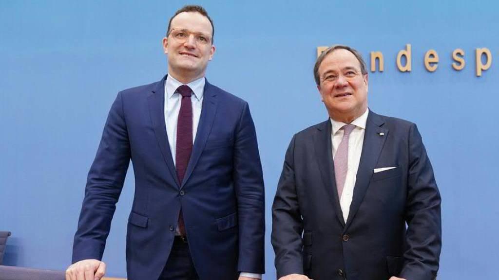 Laschet erklärt Kandidatur für deutschen CDU-Vorsitz