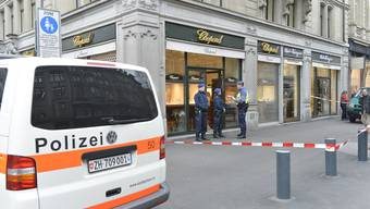 Chopard-Boutique an Zürcher Bahnhofstrasse am hellichten Tag überfallen