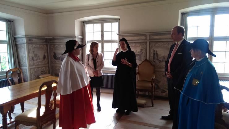 Besuch des Klosters Fahr mit Priorin Irene Gassmann
