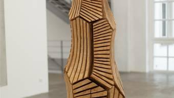 Solides Handwerk: David Nash konserviert Natur in ihr nachempfundenen Skulpturen.Fondation Fernet-Branca.