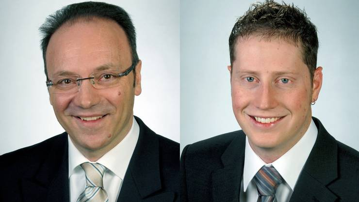 Sie stellen sich der Wahl: Pierino Menna (links) und Philippe Ebener.