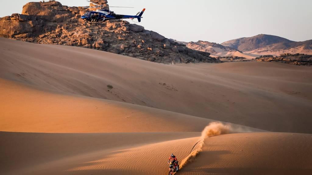 Gefährliches Spektakel: Die Rallye Dakar kostet auch in diesem Jahr einem Teilnehmer das Leben.