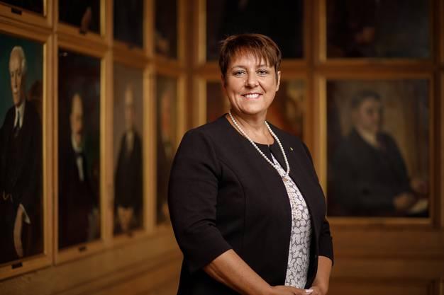 Petra Steimen-Rickenbacher, Gesundheitsdirektorin des Kantons Schwyz