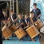 600 Jugendliche kamen ans Jungtambouren- und Pfeiferfest.