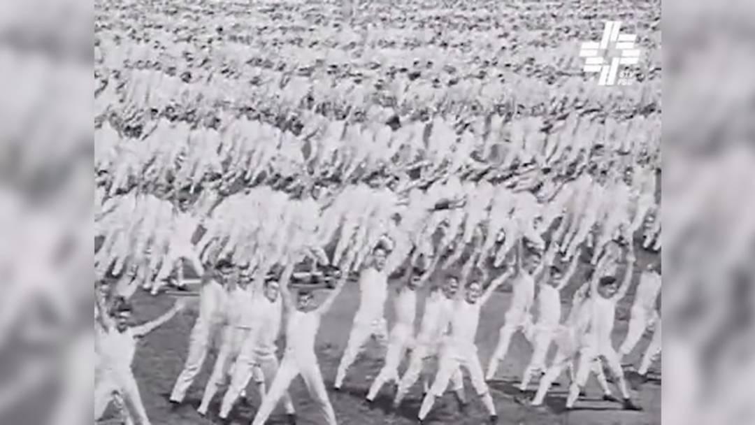 ZU VERWENDEN MIT KATJAS ARTIKEL – FÜR WIEDERVERWENDUNG ANFRAGEN BEIM STV – Anno 1932: das vorletzte Eidgenössische Turnfest in Aarau in bewegten Bildern