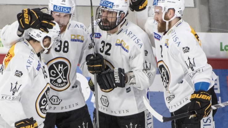 Lugano glückt gegen Biel ein starkes Comeback