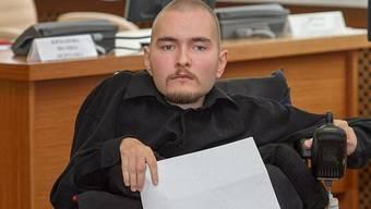 «Meine Entscheidung steht fest, man wird mich nicht umstimmen.», sagt der an spinaler Muskelatrophie erkrankte Valery Spiridonow.