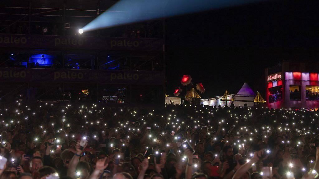 Tausende Teilnehmer am 44. Paléo in Nyon