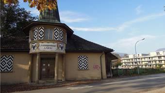Das Schützenhaus in der Aarenau Scheibenschachen. (Archiv)