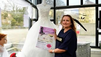 Kerstin Schlup organisiert die zweite Hochzeitsmesse.