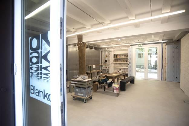 Insgesamt drei neue Räume wurden für kommende Ausstellungen geschaffen.