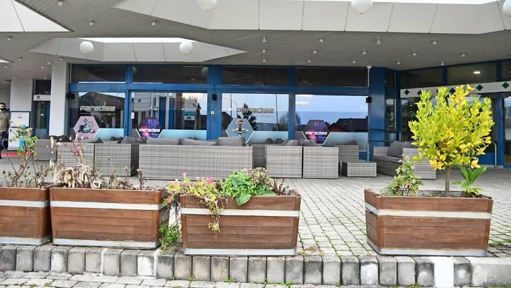Die Shisha-Bar Paradise Lounge befindet sich im Einkaufscenter Tychboden in Oftringen.