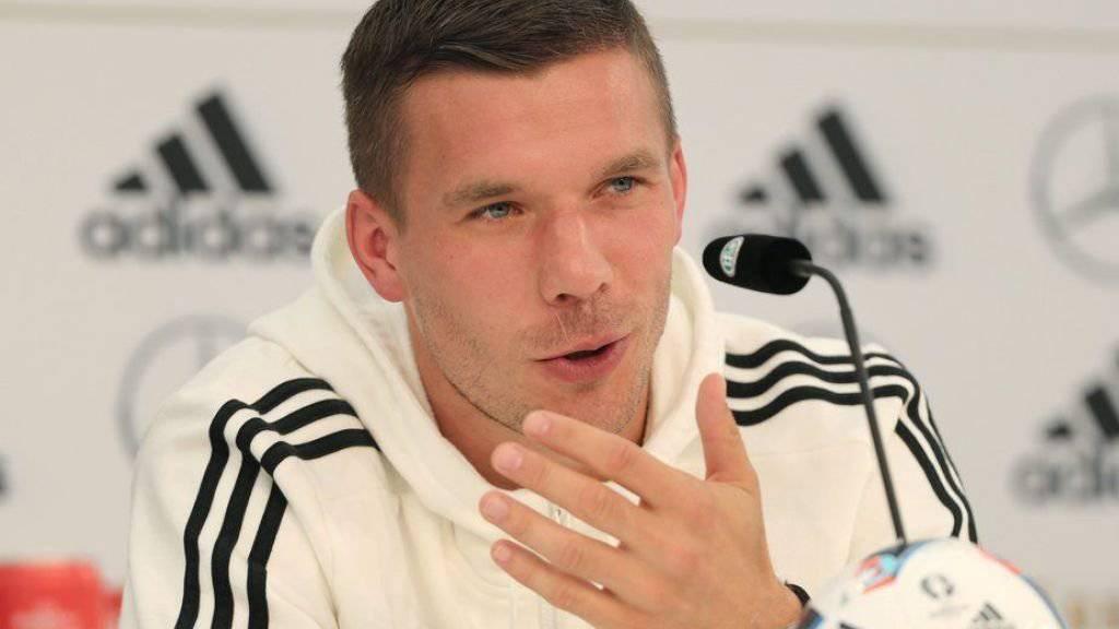 Lukas Podolski ist eine Sprüchekanone.