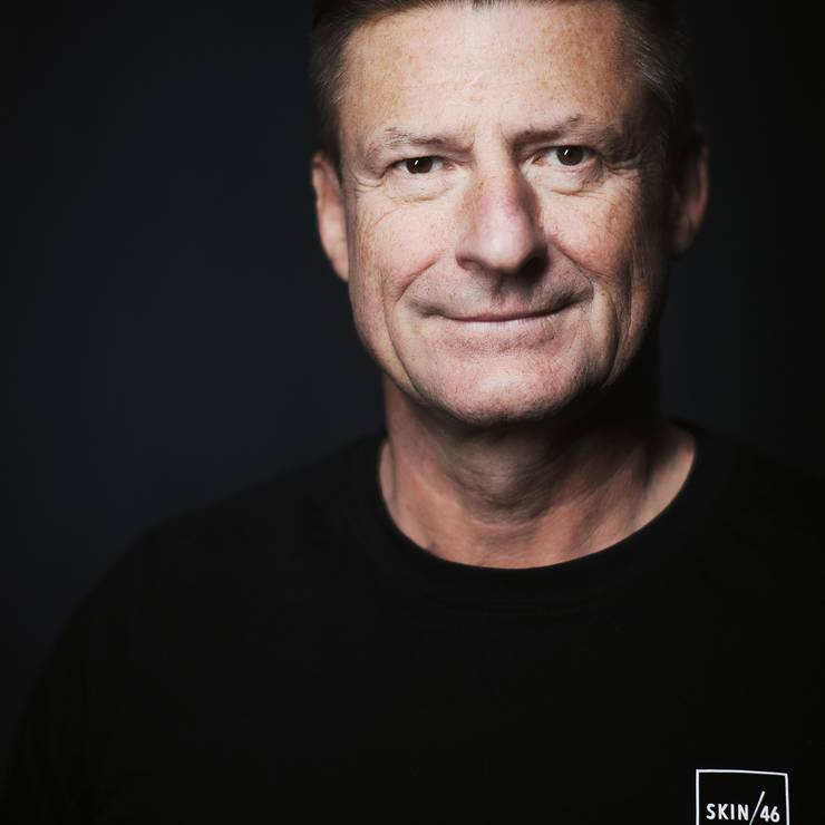 Andreas Wampl, CEO von Skin46