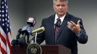 """Langjährige Ermittlungen: Generalstaatsanwalt von Mississippi Jim Hood schliesst die Akte des """"Mississippi Burning""""-Falls."""